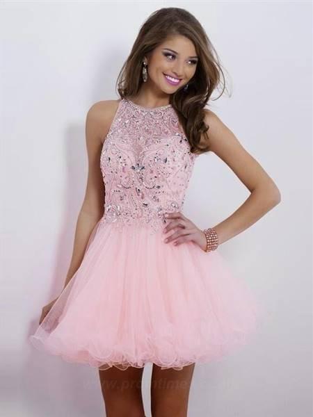 cute pink prom dresses
