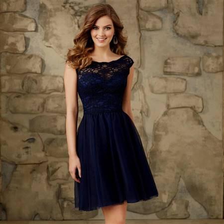 dark blue party dresses for women