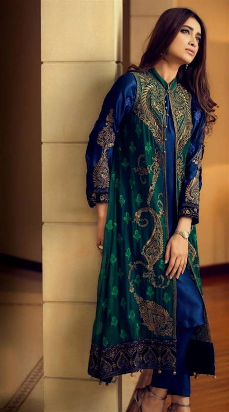 dark green dresses pakistani