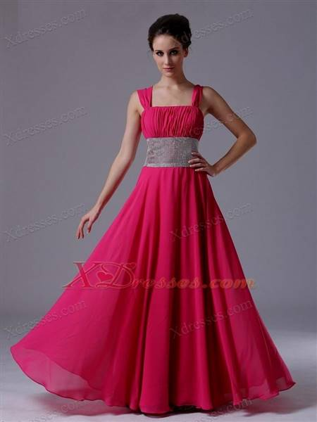 dark pink gowns with sleeves