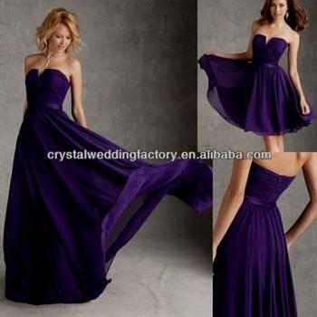 dark purple prom dresses