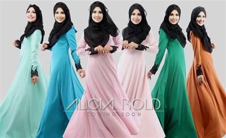 dress muslimah terkini