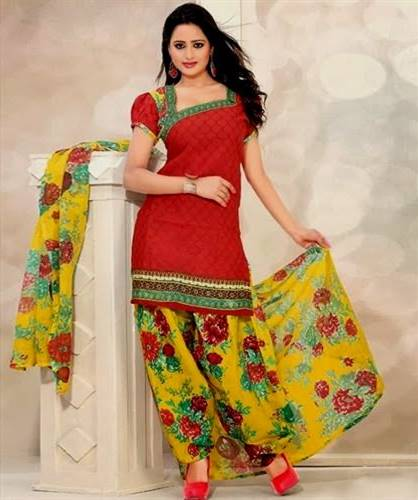 Dress Neck Designs For Cotton Salwar Kameez B2b Fashion