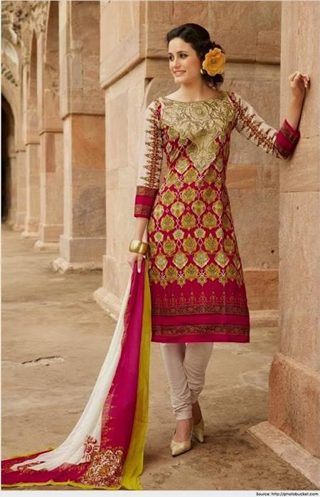 dress neck designs for cotton salwar kameez