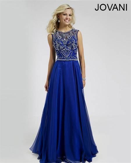 dresses for prom royal blue