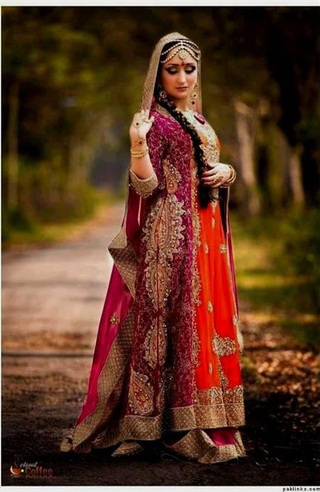 dresses for wedding pakistani for girls