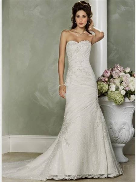 elegant lace wedding dresses