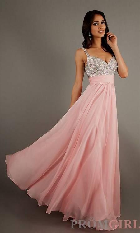 elegant pink prom dresses