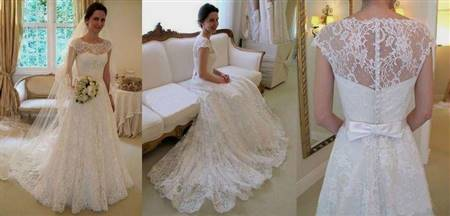 fancy lace wedding dresses