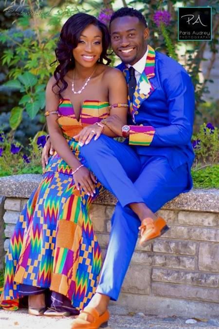 ghanaian dresses for engagement