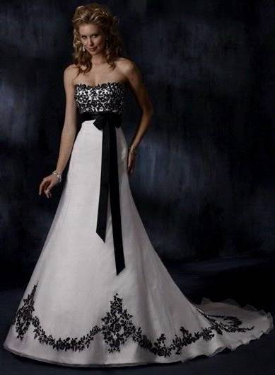 goth wedding dress