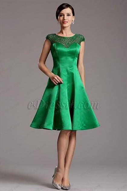 green cocktail dresses