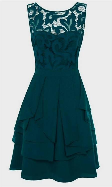 green lace cocktail dresses