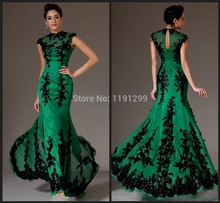 green night dresses