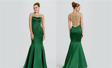 green prom dresses with sleeves