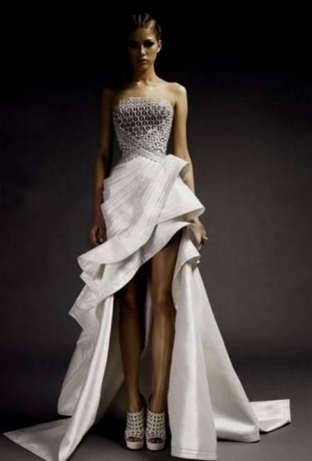 high fashion lace wedding dresses