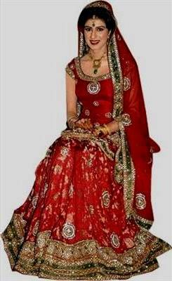 indian bridal red dresses