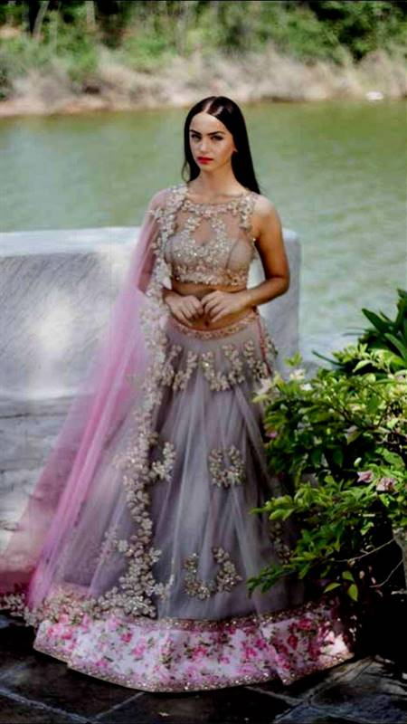 indian dresses for engagement for girls