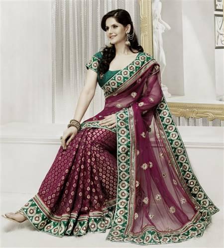 indian green bridal dresses
