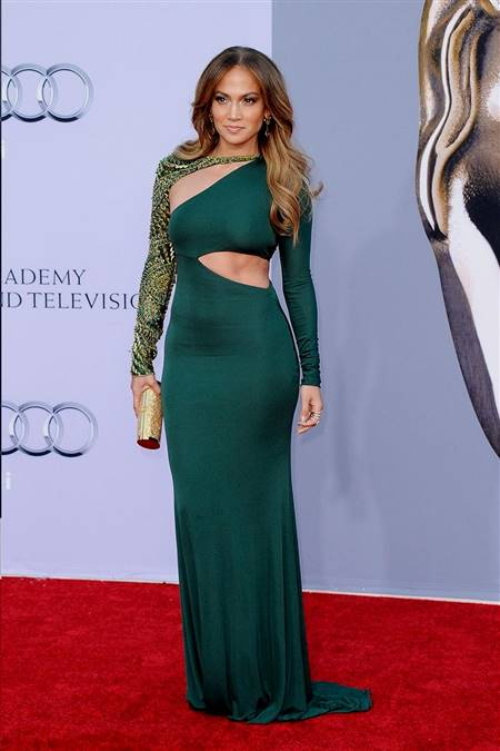 jennifer lopez red carpet dresses