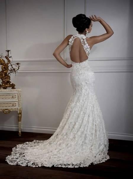 jovani low back wedding dresses