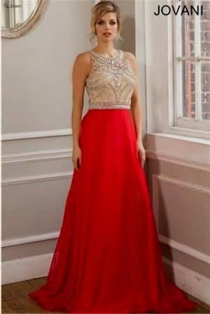 jovani prom dresses red