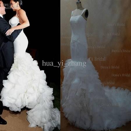 kim kardashian mermaid wedding dress