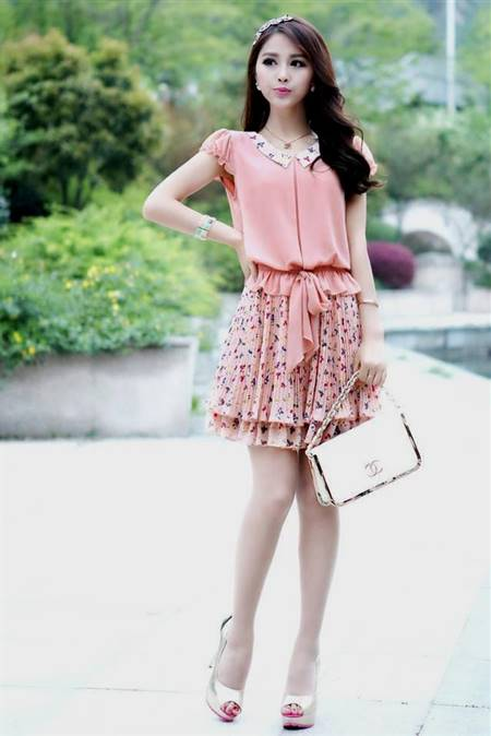 korean casual dress for women