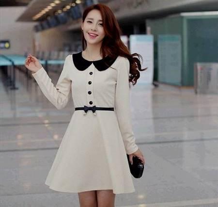 korean fashion casual dresses