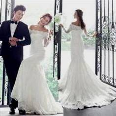 korean lace wedding dresses