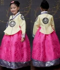korean traditional dress for kids