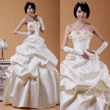 korean wedding dress modern