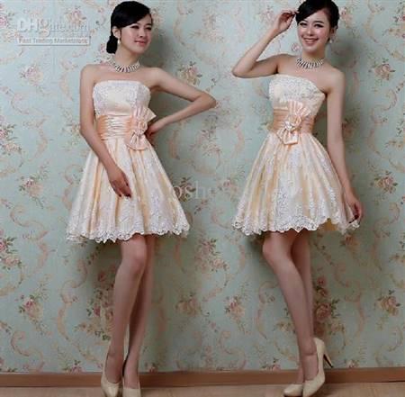 korean wedding party dresses