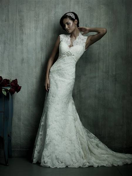 lace wedding dress styles