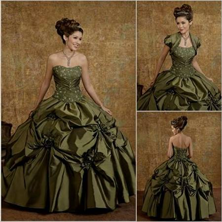 late victorian ball gown