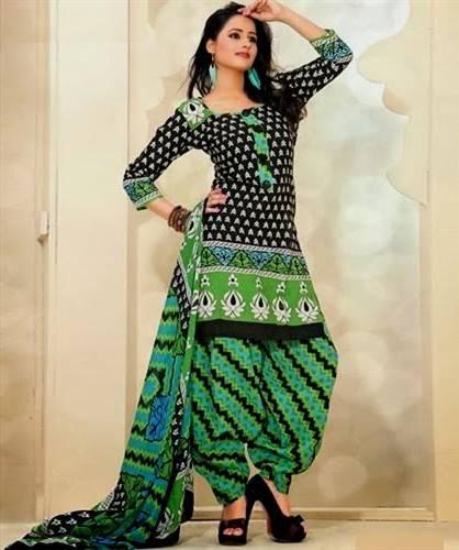 latest cotton dress designs