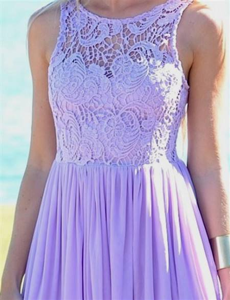 lavender lace dress