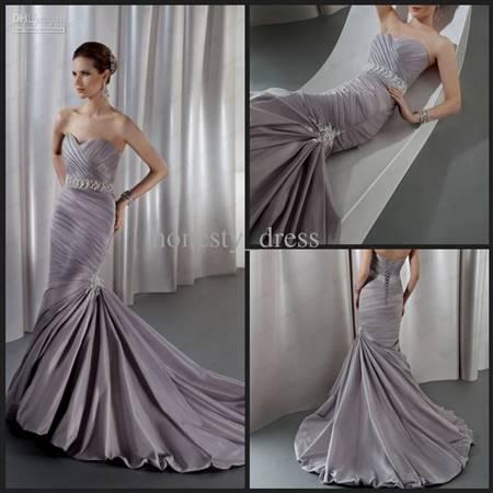 lavender lace wedding dress