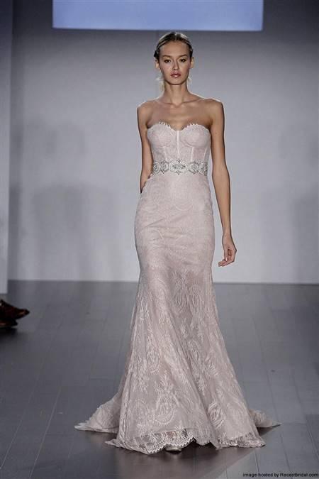 lazaro lace mermaid wedding dresses