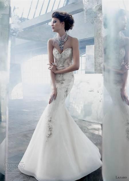 lazaro mermaid wedding dresses