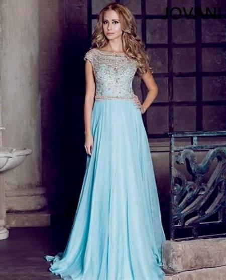 light blue prom dresses