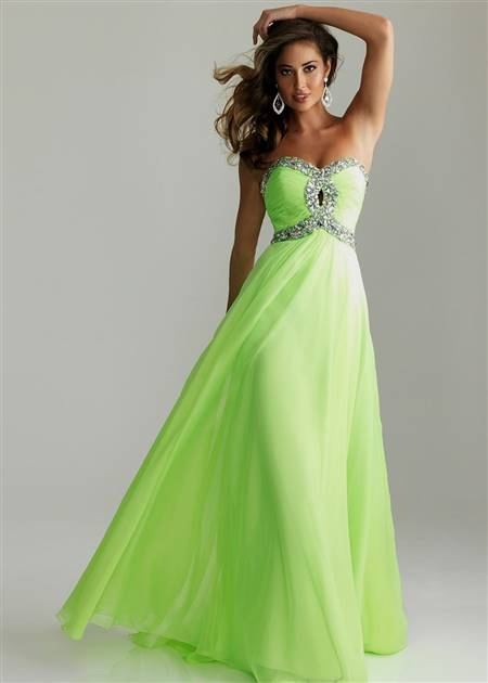 light green prom dresses