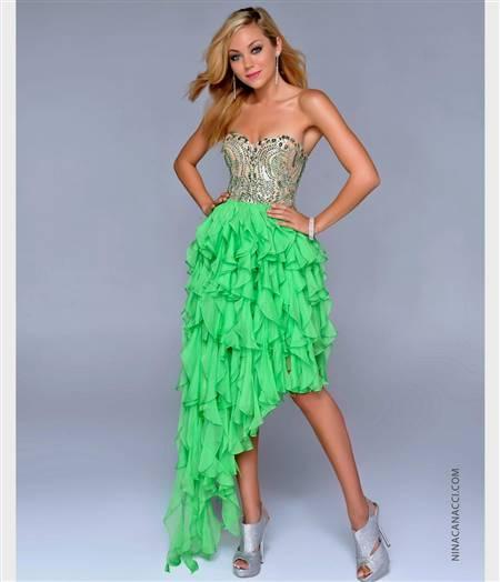 light green prom dresses