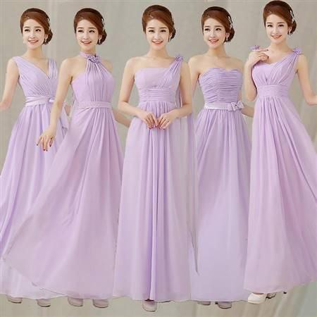 light lavender bridesmaid dress