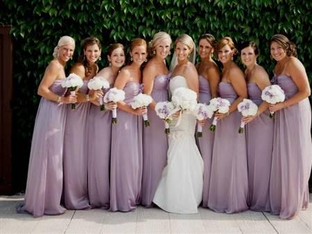 light lavender bridesmaid dress