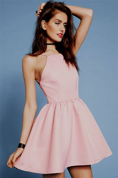 light pink casual dresses