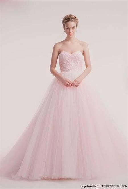 light pink princess ball gown
