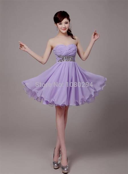 light purple cocktail dresses