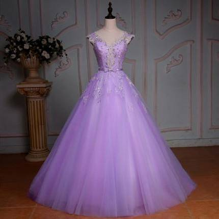 light purple medieval dress