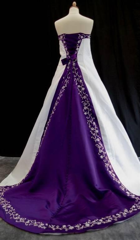 light purple wedding dresses